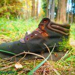 Wald Wanderschuh alt
